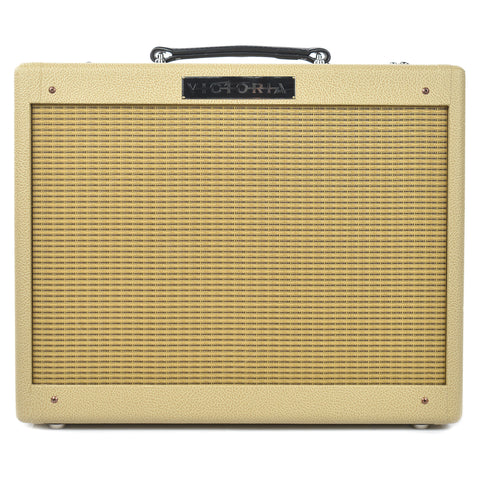 Victoria Vicky Verb Jr Fawn Wheat Grille 1x12 Combo w/Reverb