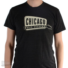 Chicago Music Exchange Classic Logo Tri-Black