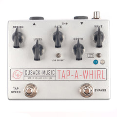 Cusack Music Tap A Whirl Analog Tremolo w/ Tap Tempo