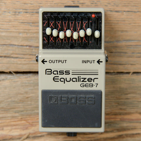 Boss GEB-7 Bass EQ USED
