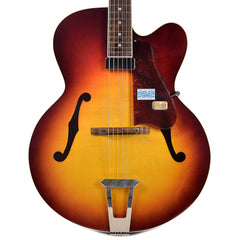 Gibson Solid Formed 17 Hollowbody Venetian Bourbon Burst Floor Model