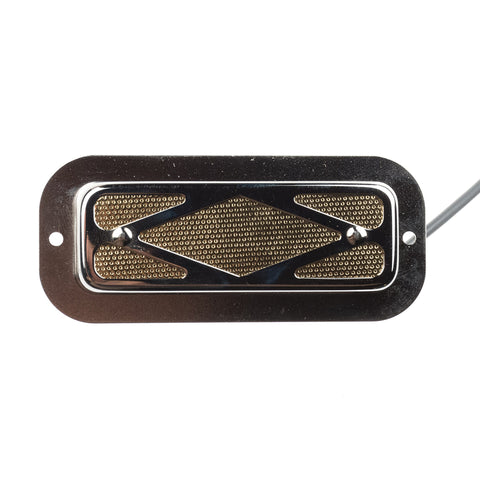Curtis Novak Goldfoil Diamond-Grille Pickup w/2mm Elevated Bezel