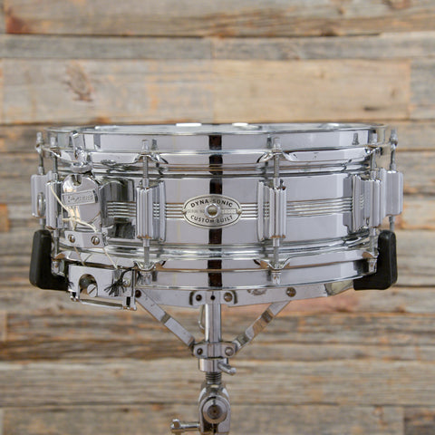 Rogers 5x14 Dayton Era Dynasonic COB Snare Drum Mid 1960s USED