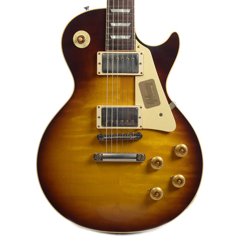 Gibson Custom Shop Les Paul Standard Plain Top Kindred Burst Fade VOS (Serial #CME70008)
