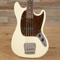 Fender Mustang Bass RW Olympic White 2008 (s871)