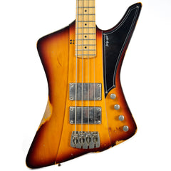 Sandberg Forty Eight Bass 3 Tone Sunburst Finish Hardcore Reserve Aged (Serial #27556)