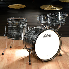 Ludwig 12/14/20 Classic Maple Kit Vintage Black Oyster