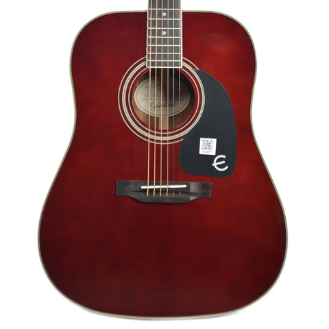 Epiphone PRO-1 Plus Dreadnought Acoustic Wine Red