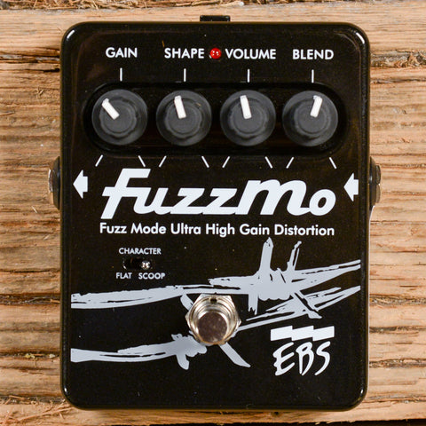 EBS FuzzMo Ultra High Gain Bass Distortion USED