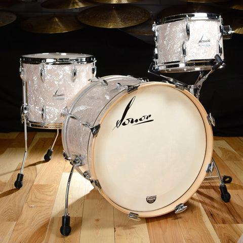 Sonor Vintage Series 12/14/20 3pc Kit Vintage Pearl