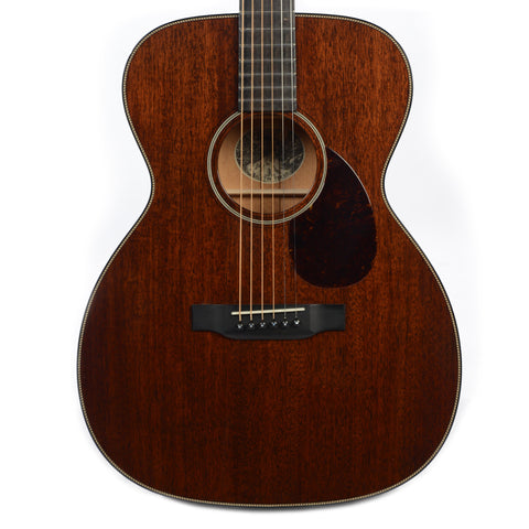 Collings OM1 Orchestra Model Mahogany Walnut Stain w/Rope Purling (Serial #26404)
