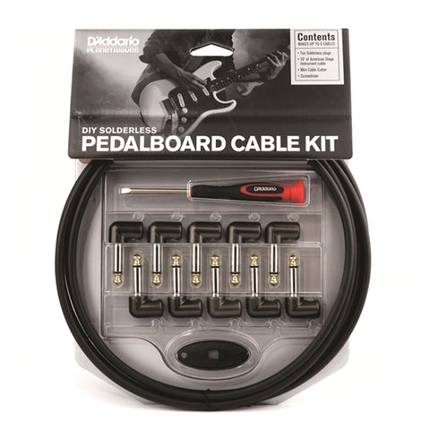 Planet Waves Cable Station Pedalboard Cable Kit