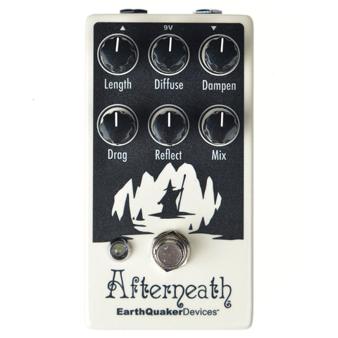 Earthquaker Devices Afterneath Otherworldly Reverberation Machine Invert Glow-in-the-Dark v2