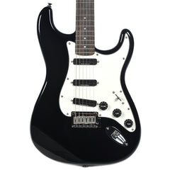 Squier Deluxe Hot Rails Stratocaster RW Black
