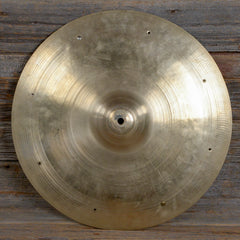 "Zildjian 18"" Avedis Crash/Ride w/Rivets & Repaired Keyhole 1950s USED"