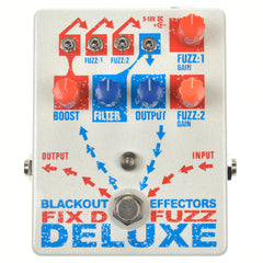 Blackout Effectors Fix'd Fuzz Deluxe Fuzz, Overdrive, Boost & More Fuzz