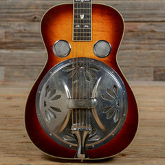 Dobro Model 27 Deluxe Square Neck Sunburst USED (s530)