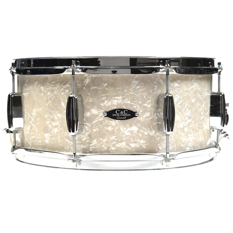 C&C 6.5x14 Player Date 1 Snare Drum Aged Marine Pearl