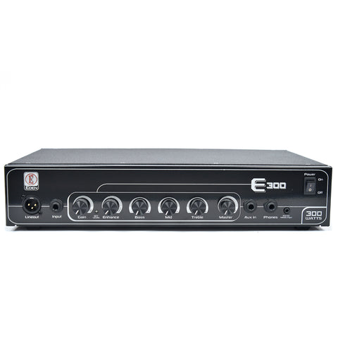 Eden 300W Head w/Stereo CD Input, Auto Compression, Enhance, 3 Band EQ, & Balanced DI