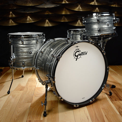 Gretsch Brooklyn 12/16/22/5.5x14 4pc Kit Smoke Grey Oyster