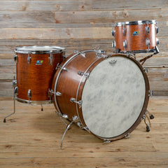 Ludwig 13/16/24 3pc Drum Kit Refinished Mahogany Stain 1971 USED