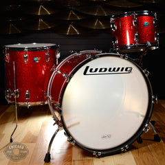 Ludwig Legacy Classic 13/16/24 3pc Drum Kit Red Sparkle
