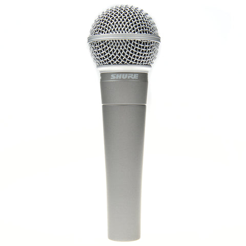 Shure SM58-50A 50th Anniversary Edition Microphone Silver
