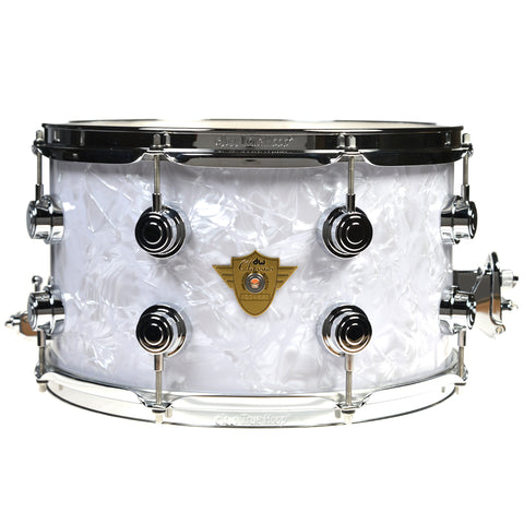 DW Classic Series 8x14 16 Lug Snare Drum w/Mag Throw & 3 Point Butt Plate Classic Marine