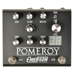 Emerson Custom Pomeroy Analog Overdrive Distortion Black