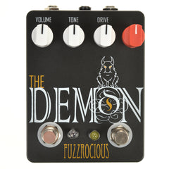 Fuzzrocious Demon Med/High Overdrive w/Latching Feedback Mod CME Exclusive Black/Orange