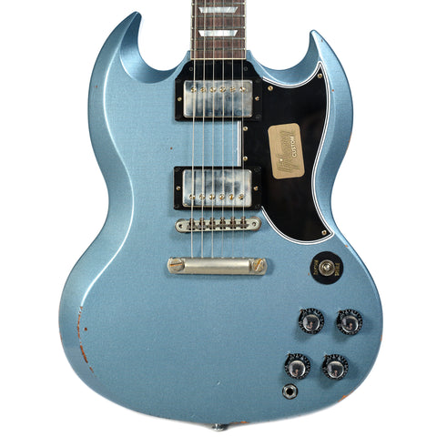 Gibson Custom SG Standard Antique Pelham Blue Aged NH Limited Edition of 25 (Serial#070992)