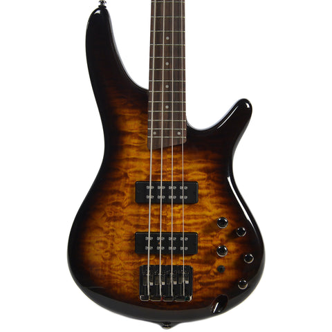 Ibanez SR400EQM 4 String Dragon Eye Burst