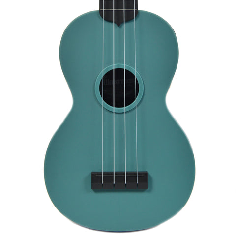 Kala Composite Soprano Ukulele Glow In The Dark Aqua Matte