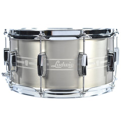 Ludwig 7x14 Heirloom Stainless Steel Snare Drum