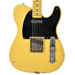 Nash T-52 Butterscotch Blonde Light Aging w/1-Ply Black Pickguard & Lollar Pickups (Serial #NG3783)