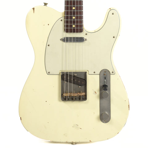 Nash T-63 Olympic White RW w/Lollar Pickups (Serial #NG3661)