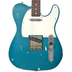 Nash T-63 Ocean Torquise Light Aging w/3-Ply White Pickguard & Lollar Pickups (Serial #NG3779)