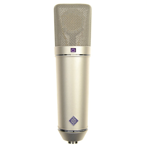 Neumann U87 AI Set Z Large Diaphragm Condenser Microphone, Nickel