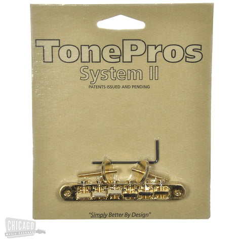 TonePros AVR-II Bridge - Gold