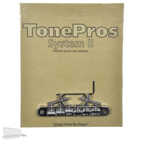 TonePros AVR-II Bridge - Chrome