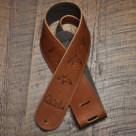 PRS Birds Leather Strap - Brown
