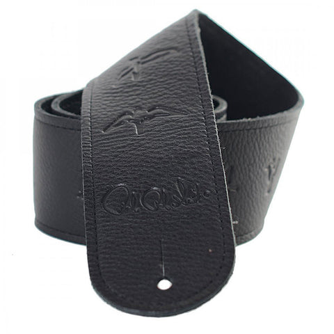 PRS Birds Leather Strap - Black