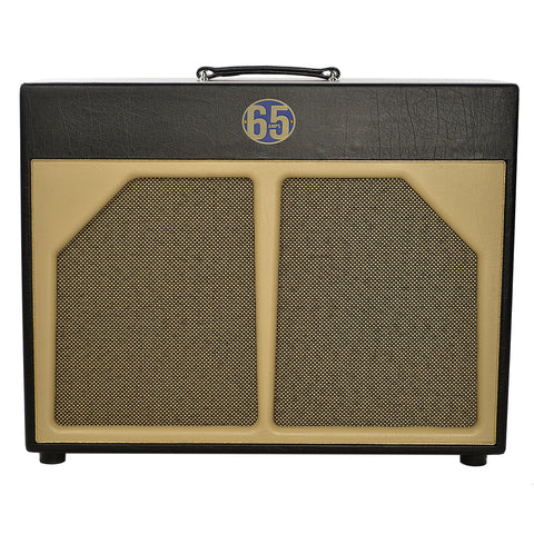 65 Amps 2x12 Extension Cabinet w/Celestion G12H30 & Alnico Blue