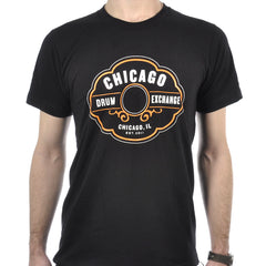 Chicago Drum Exchange T-Shirt Black