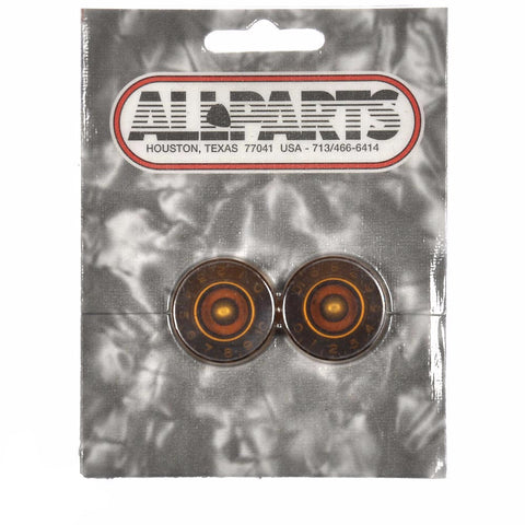 Allparts Vintage Style Speed Knobs - Amber