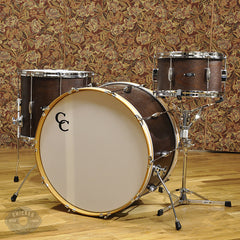 C&C Player Date 1 3pc Big Band Drum Kit 13/16/24 Walnut Stain
