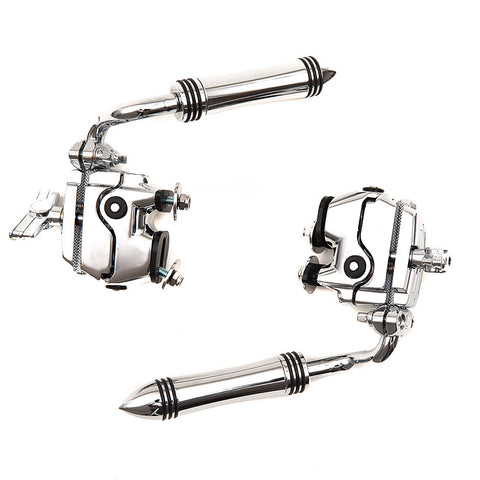 Ludwig Atlas Classic Bass Drum Spur Pair with 2 LAPAM1 Brackets
