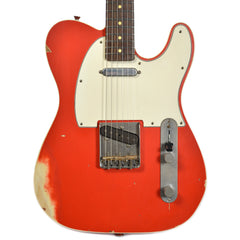 Nash T-63 Double Bound Dakota Red Medium Relic w/3-Ply White Pickguard & Lollar Pickups (Serial #3675)