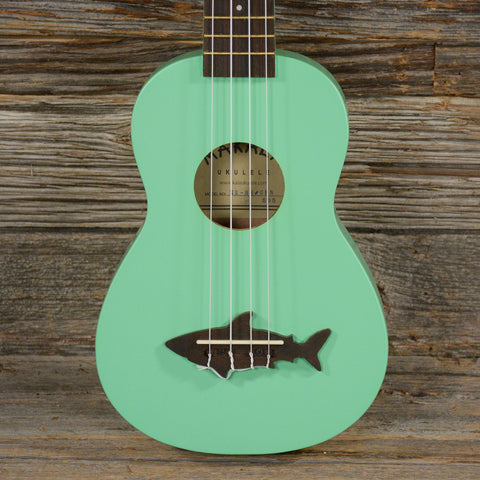 Makala Shark Composite Soprano Ukulele Green (USED)