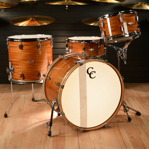 C&C Maple Gum 13/16/22 3pc Kit High-Gloss Ribbon Mahogany Kit